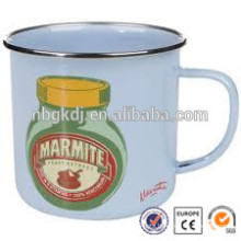 enamelware blender joyshaker cup with SS rim