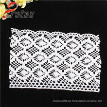 2015 Most Popular Chemical Lace / Guipure Lace / Stickerei / Strick Lace Stoff