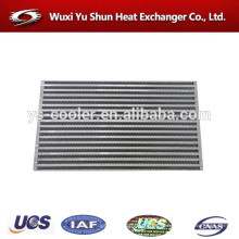 Alto rendimiento de aluminio personalizado tipo radiador intercooler núcleo fabricante