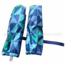 Blue Check PU pluie moufle pour bébé/enfant