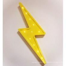 Light Bulb Signage Signo Aberto Aluninum Lettering para Sinais