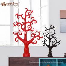 Homewares decoración de resina de artesanía artesanal escultura de árbol de alambre