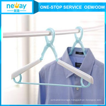 New Design Windbreak Flexible Plastic Hangers
