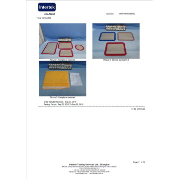 Easy to Clean Silicon Baking Mats