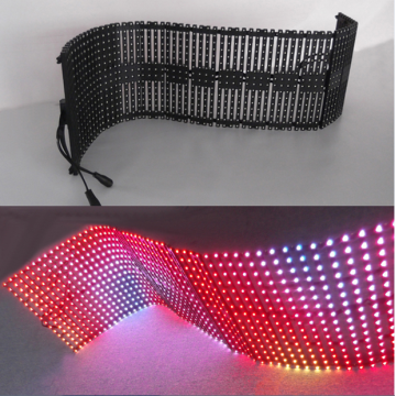 Pantalla de cortina LED flexible Pantalla de panel LED P10