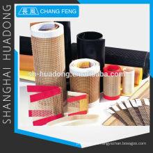 PTFE de fibra de vidrio tela cinta transportadora
