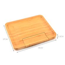 4 STÜCKE Käse Werkzeuge mit Bambus Schneidebrett Box