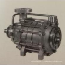 Pompe à eau centrifuge horizontale multicellulaire haute pression