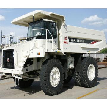 Terex camion benne rigide tout terrain hors route TR50