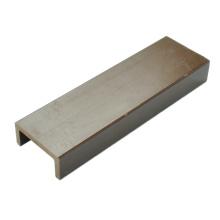 Materiales de plástico de madera / material de paisaje WPC 63 * 29