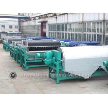 Equipo minero Separador magnético húmedo para procesamiento de minerales