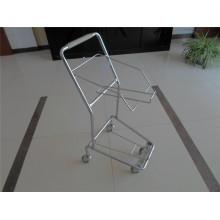 Supermarket Steel Basket Trolley