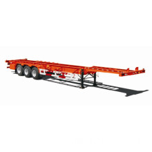 Durable 3 Axles High Strength Steel Container Semi Trailer