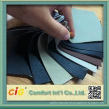 Polsterung PVC Leder für Sofa Sitz