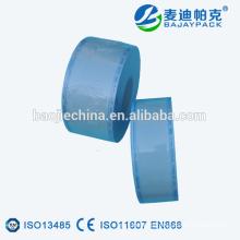 Indicadores de color médicos Carrete plano de esterilización con sellado térmico de Anqing