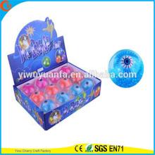 Высокое качество детские игрушки резиновая 65мм светодиодные глаз мигает упругий мяч