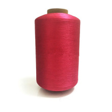 Manufacturer 20D 30D Bright Red mono filament polyester yarn for weaving