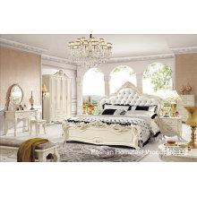 Hochwertiges klassisches hölzernes Schlafzimmer-Set (HF-MG008)