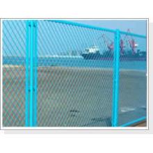 Métal expansé enduit de vinyle de vente chaude de haute qualité pour la barrière de jardin (usine d'OIN 9001)
