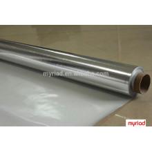 Tissu en maille en fibre de verre, laminage en fibre de verre en aluminium, matériau en toiture réfléchissante et en argent Laminage en aluminium feuilleté