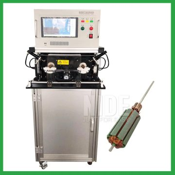 DC and universal motor armature rotor testing machine