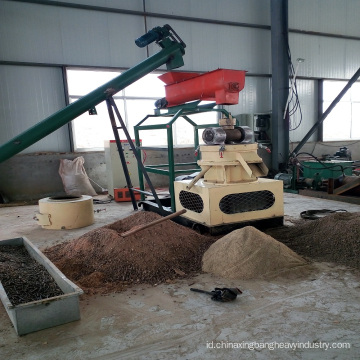 garis mesin pelletizer kayu plastik