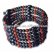 """Magnetic Gold Stone enroulé enroulé Bracelets et collier 36 """""""
