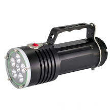 Lámpara de Buceo de Alta Potencia Brillante Impermeable 200 Metros