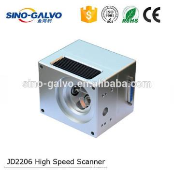 JD2206 10mm Strahl Apertur Galvo Scanner Laserbeschriftungsanlage