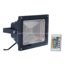 Outdoor IP65 Waterproof RGB LED Inondation Projecteur 10W Remote Controller