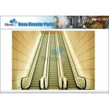 30 Degree Automatic Escalator , 600mm Step Width Moving Walks