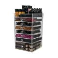 Acrylic 7 Drawers Organizer Cube Storage Box