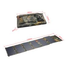 Chargeur de plafond solaire portatif pliable portable de 36 watts pour le voyage de randonnée