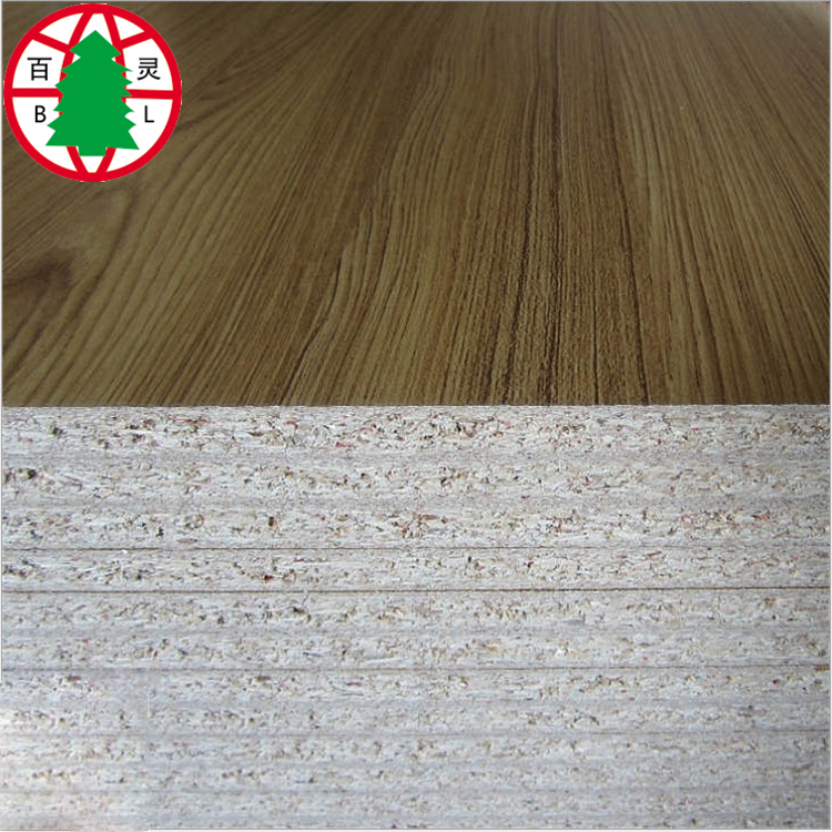 Melamine Laminated Chipboard Furniture Grade Particle Board