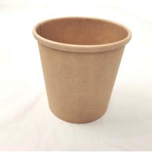 China Manufaktur liefert individuell bedruckte 8 12 16 oz Kraft Kaffeetasse mit Deckel