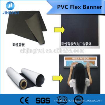 Médias de publicité de Jinghui Promotion 410g Bannière flexible de PVC de lumière de publicité de Digital Prination pour l'encre dissolvante dissolvante et d'eco