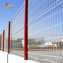 3d Welded Wire Mesh Fence With Square Post/Peach Posts