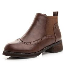 Мужчины Платье Обувь Мужская Обувь Броги