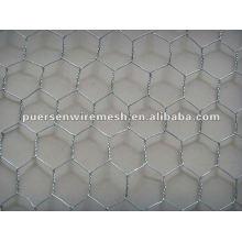 Tejido de alta calidad Red de alambre hexagonal (galvanizado y pvc)