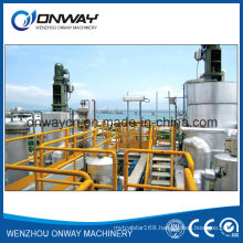 Tfe High Efficient Energy Saving Factory Price Wiped Rotary Vacuum Used Engine Oil Industrial Rotary Evaporator