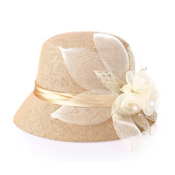Lady bucket hat factory summer dinner bucket hat