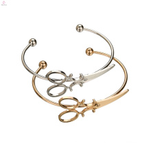 Cuff Barber Hairdresser Zinc Alloy Scissors Bracelet