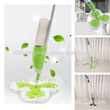 3 ROUND HEADS MICROFIBER SPRAY MOP CLEANING SET