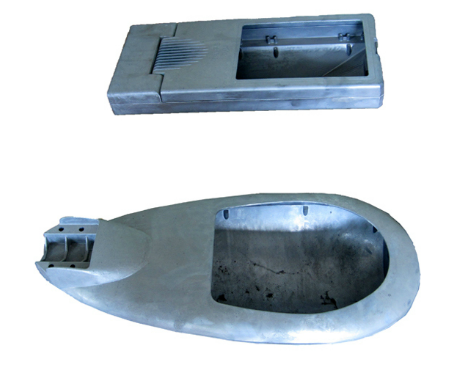 Tekanan Tinggi Die Cast Die Casting Mould Lamp / Castings