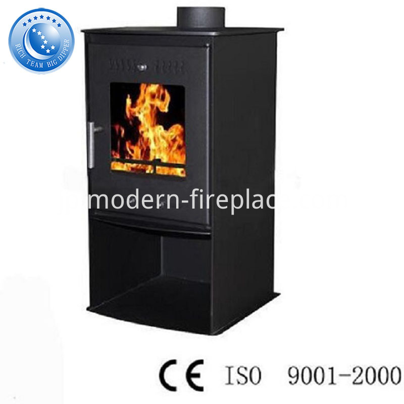 Modern Fireplace Design With Replacement Doors