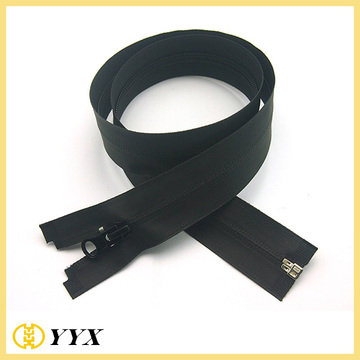 Black Nylon Waterproof Zipper Open End