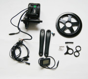 Bafang Crank MID Drive Motor Kit, MID Crank Kit BBS-01 Electric Bike Conversion