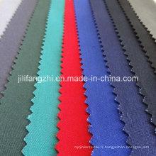 Tissu 100% Polyester avec poche pour vêtement