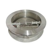 """Dupla placa Wafer tipo válvula de retenção (150 ~ 600LB 1-1 / 2 """"~ 28"""")"""