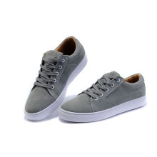 Zapatos de hombre gris Zapatos de skate clásico